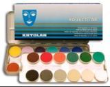 kryolan - aquacolor -paleta 24