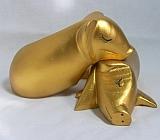 Dwie złote świnki