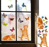 Naklejki Na Szybę Motyle I Kotki Pomysły Na Zakupy