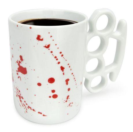 Kubek z krwią